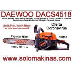 DACS 4518 MOTOSIERRA DAEWOO...