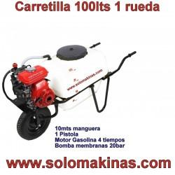 CARRETILLA FUMIGAR 100LTS +...