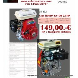 2,5HP GX100/152 MOTOR...