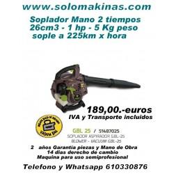 26CM3 SOPLADOR ASPIRADOR...