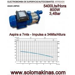 5400lts 800W 3,4Bar ASPIRA...
