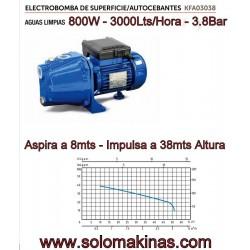 3000lts 800W 3,8Bar ASPIRA...