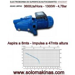 3600lts 1300W 4,7Bar ASPIRA...