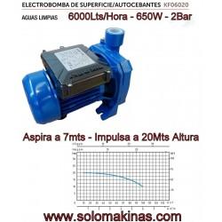 6000lts 650W 2Bar ASPIRA...