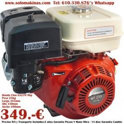 9HP GX270 Ø22,16x106mm...