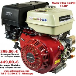 13HP GX390 Ø25,4X72,2mm...