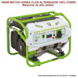 1300W GASOLINA HONDA CLON 4...