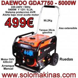 GDA7750 GENERADOR GASOLINA...